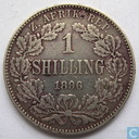 South Africa 1 shilling 1896