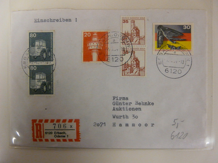 Germany collection letters by postal code catawiki for Code postal 97