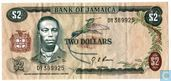 Jamaica 2 Dollars ND (1976/L1960)