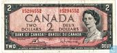 CANADA 2 Dollar  1967 (type normal)