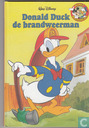 Donald Duck de brandweerman