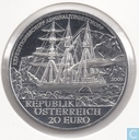 "Oostenrijk 20 euro 2005 (PROOF) ""Polarexpedition Tegetthoff"""