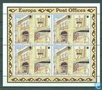 Timbres-poste - Gibraltar - Europe – Bâtiments postaux