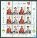 Postage Stamps - Man - Queen Elizabeth II-60th anniversary