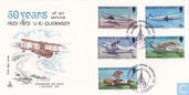 50 years of air-mail service