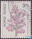 Postage Stamps - Norway - Orchideeën
