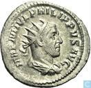 Roman Empire-AR Antoninianus Philip I