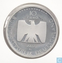 "Duitsland 10 euro 2002 (PROOF) ""50 years german television"""