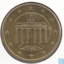 Coins - Germany - Germany 50 cent 2002 (A)