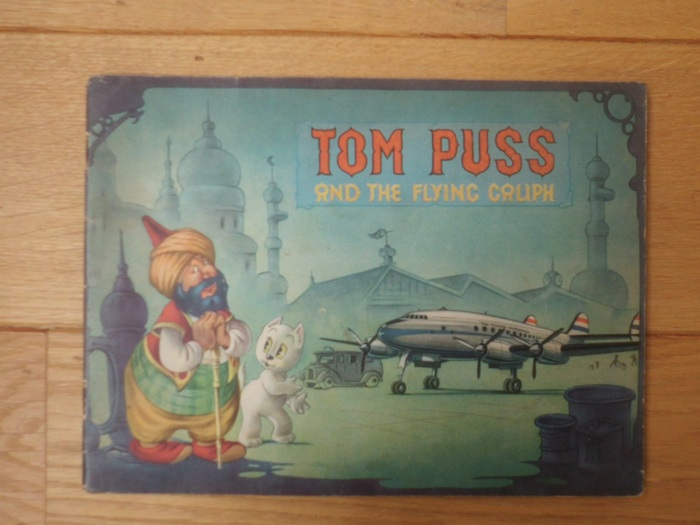 Bommel en Tom Poes - Tom Puss and the Flying Caliph (Engels) - sc - 1e druk - (1953)