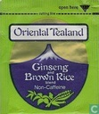 Ginseng and Brown Rice
