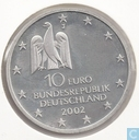 "Deutschland 10 Euro 2002 (PROOF) ""Documenta Kassel Kunstausstellung"""
