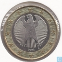 Germany 1 euro 2002 (D)