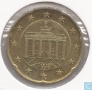 Coins - Germany - Germany 20 cent 2002 (D)