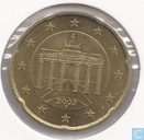 Germany 20 cent 2002 (F)