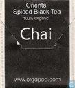 Tea bags and Tea labels - Orgapod - Oriental