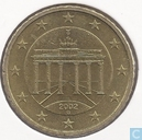 Coins - Germany - Germany 50 cent 2002 (G)