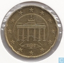 Germany 20 cent 2002 (G)
