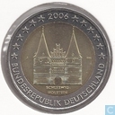 """Germany 2 euro 2006 (J) """"State of Schleswig-Holstein"""""""