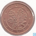 Coins - Germany - Germany 1 cent 2007 (D)