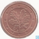 Coins - Germany - Germany 5 cent 2007 (D)