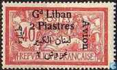 Allegory (Type Merson), with bilingual overprint