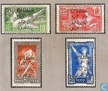 Olympic Games, with bilingual overprint