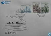 Postage Stamps - Faroe Islands - 1984 Fisheries