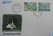 Postage Stamps - Faroe Islands - 1991 Tourism