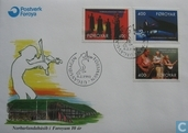 Postage Stamps - Faroe Islands - 1993 House of the North 10 years