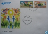 Postage Stamps - Faroe Islands - Europe – Peace and freedom