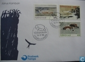 Postage Stamps - Faroe Islands - 1996 Etching
