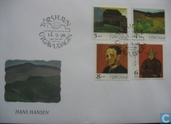 Postage Stamps - Faroe Islands - 1998 Paintings