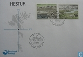 Postage Stamps - Faroe Islands - 1987 Island Hestur