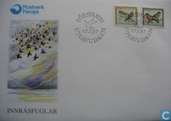 Postage Stamps - Faroe Islands - 1997 Birds
