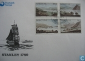 Postage Stamps - Faroe Islands - 1985 Landscapes