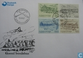 Postage Stamps - Faroe Islands - 1987 Farms