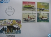 Postage Stamps - Faroe Islands - 1992 Ships heading