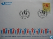 Postage Stamps - Faroe Islands - 1998 Human Rights