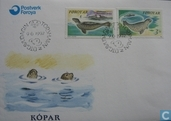 Postage Stamps - Faroe Islands - 1992 Seals
