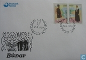Postage Stamps - Faroe Islands - 1989 Costumes