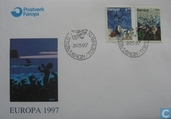 Postage Stamps - Faroe Islands - Europe-Sagas and legends