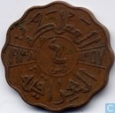 Iraq 4 fils 1938 (year 1357 - bronze)