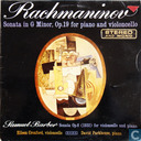Rachmaninov: Sonata in g minor / Samuel Barber: Sonata op.6
