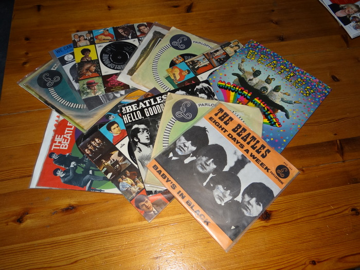 """The Beatles - Collection of 15 7"""" Singles and EP's"""