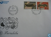 Postage Stamps - Faroe Islands - Europe – Children's games