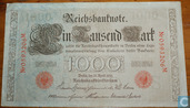 Reichsbank, 1000 Mark 1910