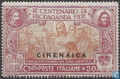 Propaganda Fide, with overprint