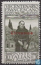 Francis of Assisi, with overprint