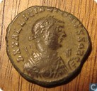 Roman Empire, AE Follis, 317-324 AD, Licinius II as caesar under Licinius I, Heraclea